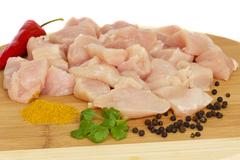 Pechuga de Pollo en Cubos Kilo